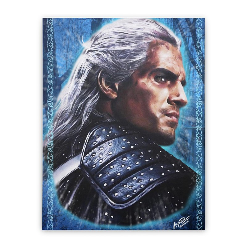 Witcher Home Stretched Canvas by Evolution Comics INC
