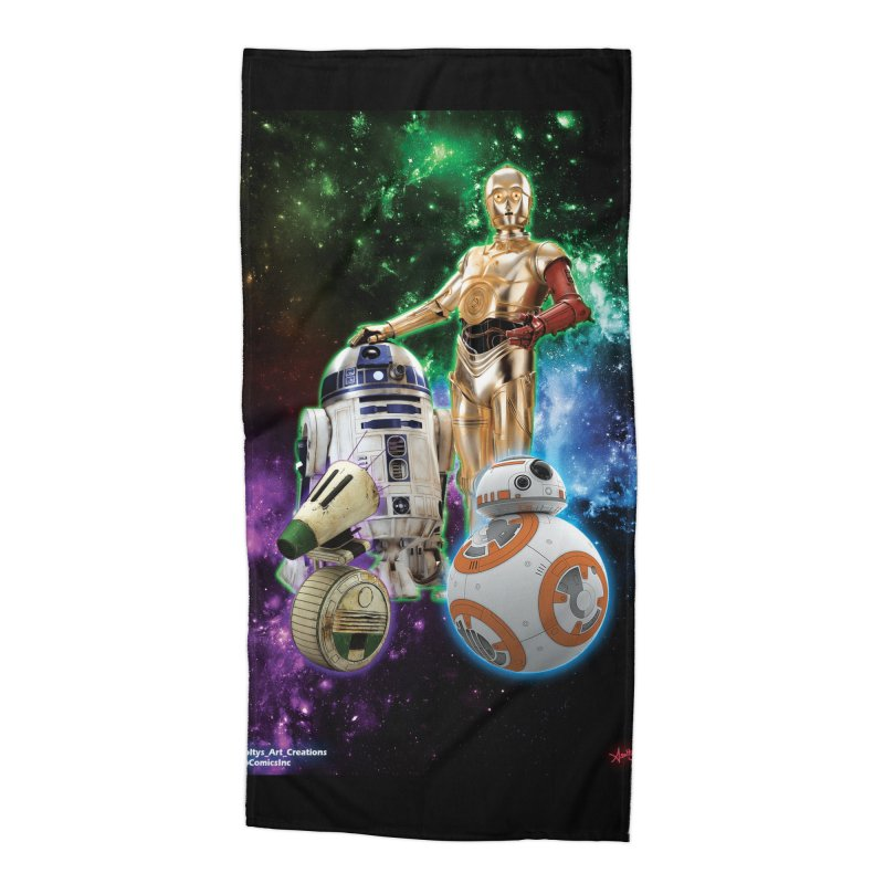 The Droids You Are Looking For Accessories Beach Towel by Evolution Comics INC