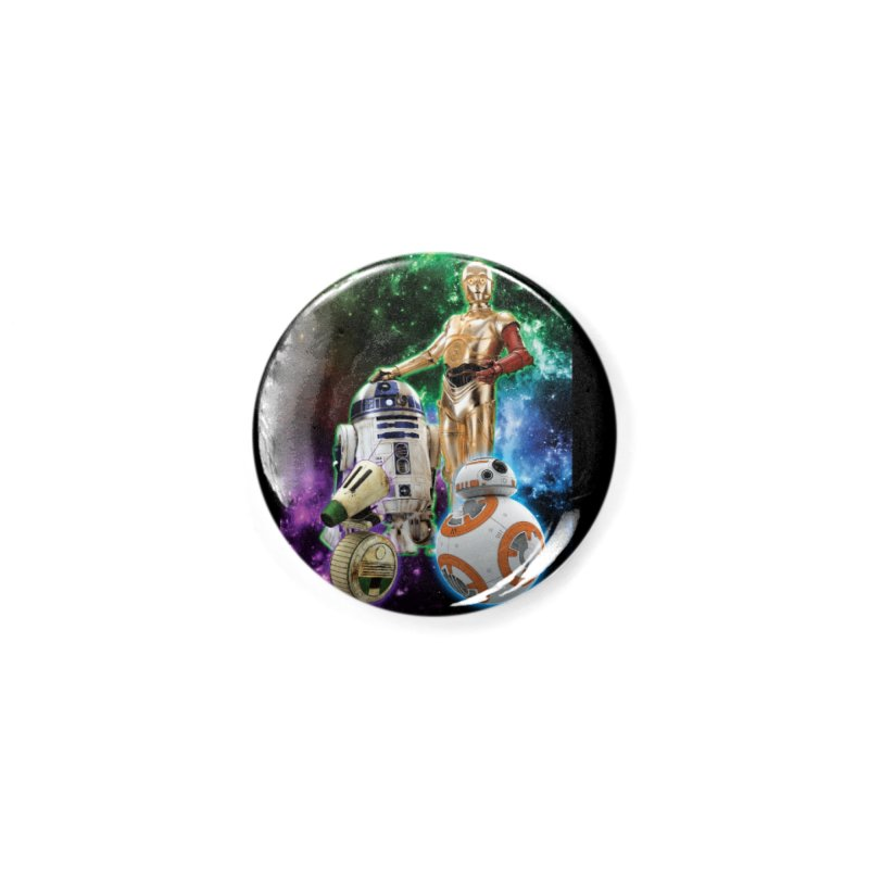 The Droids You Are Looking For Accessories Button by Evolution Comics INC
