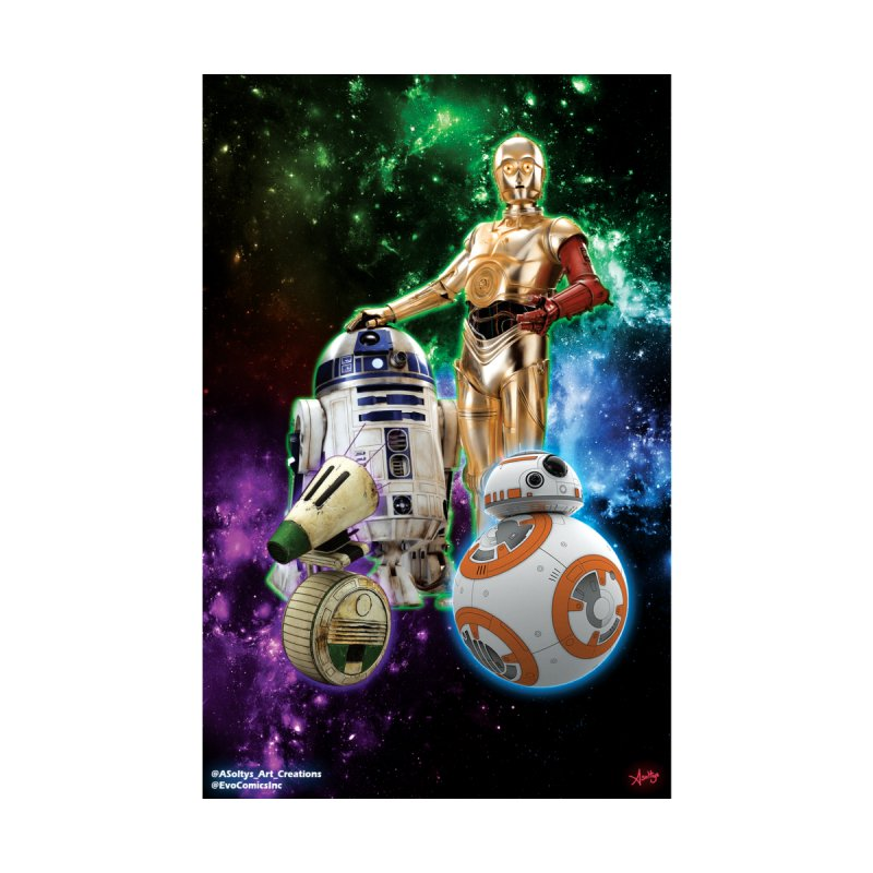The Droids You Are Looking For by Evolution Comics INC