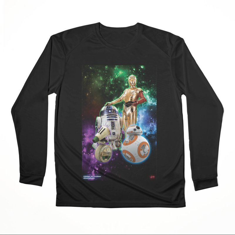 The Droids You Are Looking For Men's Performance Longsleeve T-Shirt by Evolution Comics INC
