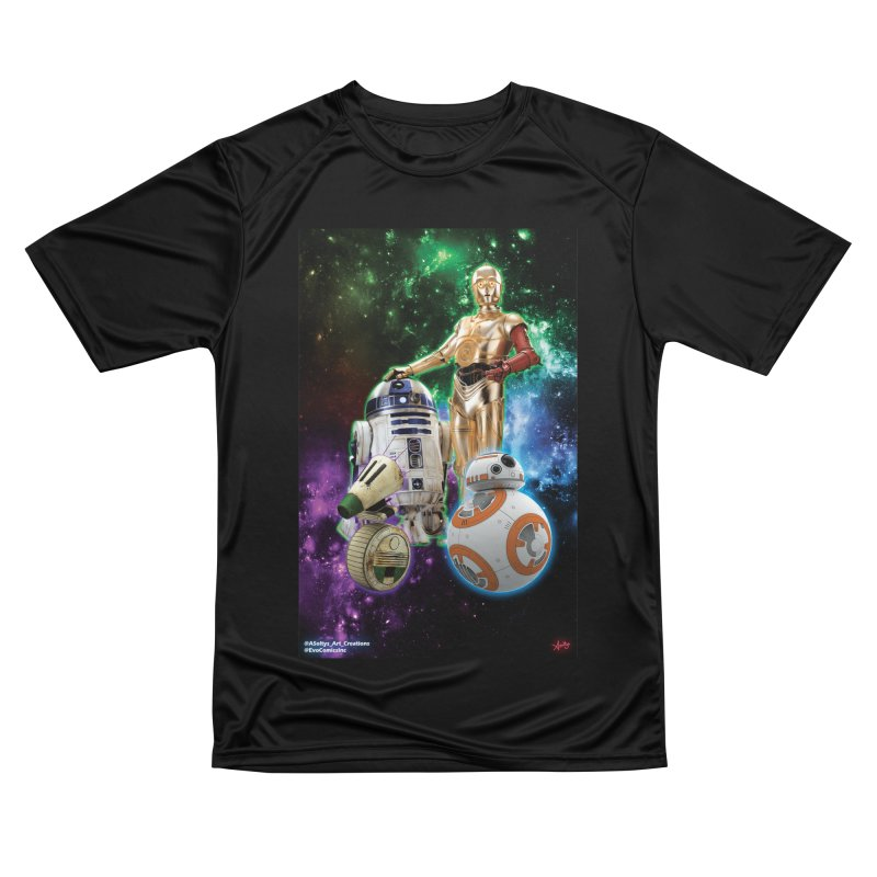 The Droids You Are Looking For Women's Performance Unisex T-Shirt by Evolution Comics INC