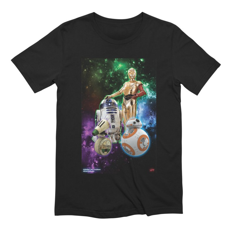 The Droids You Are Looking For Men's Extra Soft T-Shirt by Evolution Comics INC