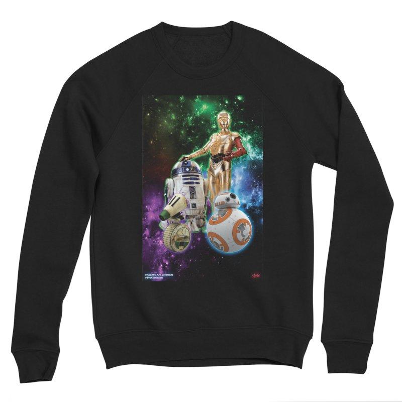 The Droids You Are Looking For Men's Sponge Fleece Sweatshirt by Evolution Comics INC
