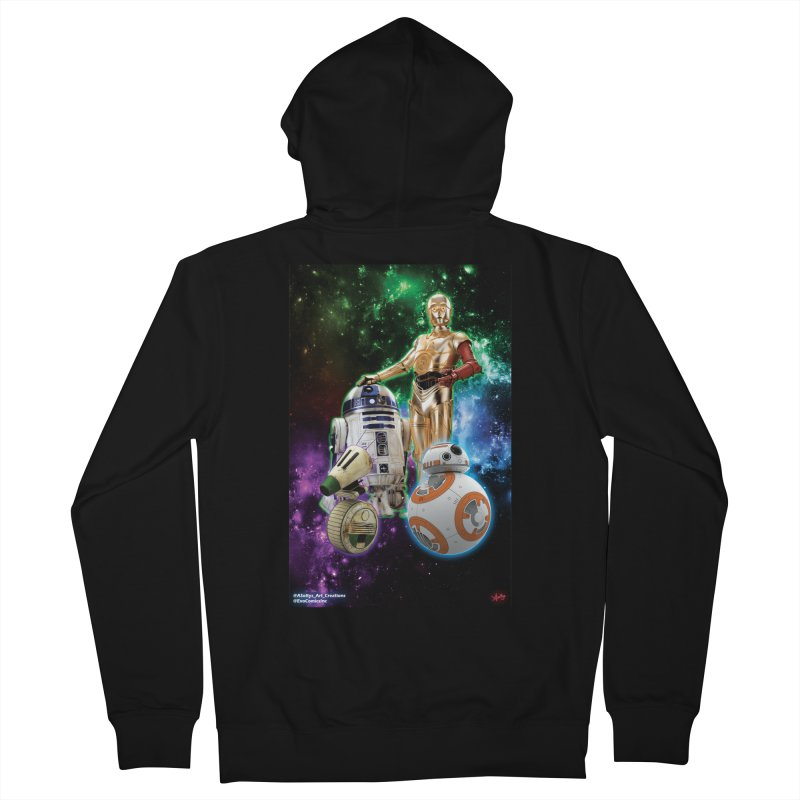 The Droids You Are Looking For Men's French Terry Zip-Up Hoody by Evolution Comics INC