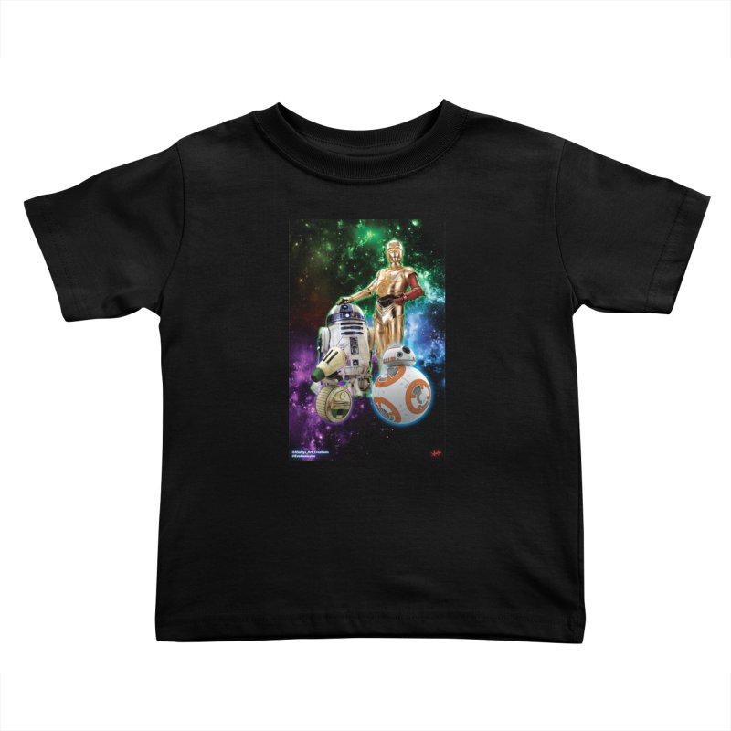 The Droids You Are Looking For Kids Toddler T-Shirt by Evolution Comics INC