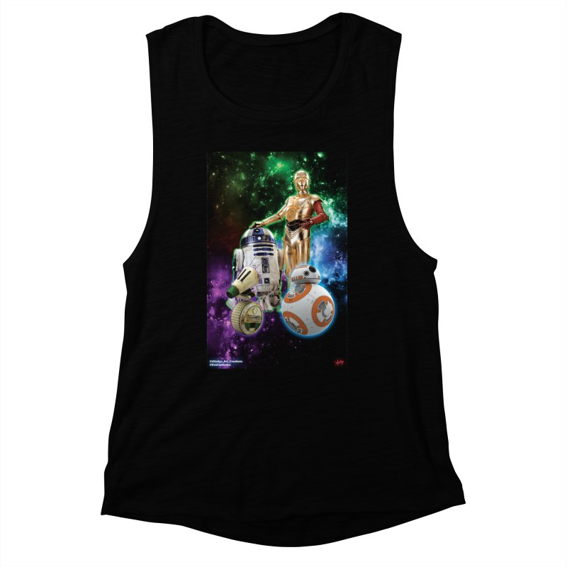 The Droids You Are Looking For Women's Muscle Tank by Evolution Comics INC