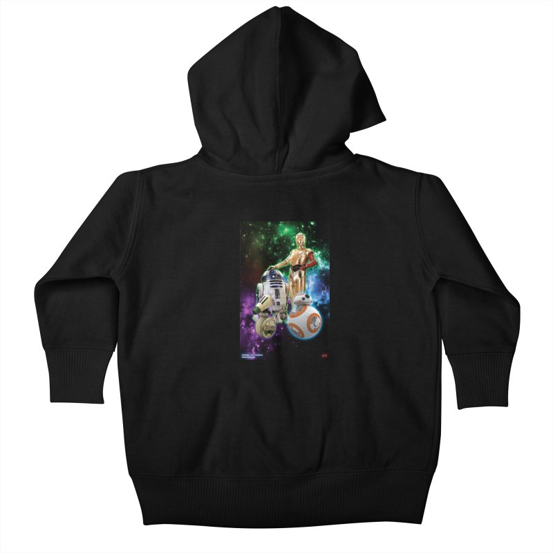 The Droids You Are Looking For Kids Baby Zip-Up Hoody by Evolution Comics INC