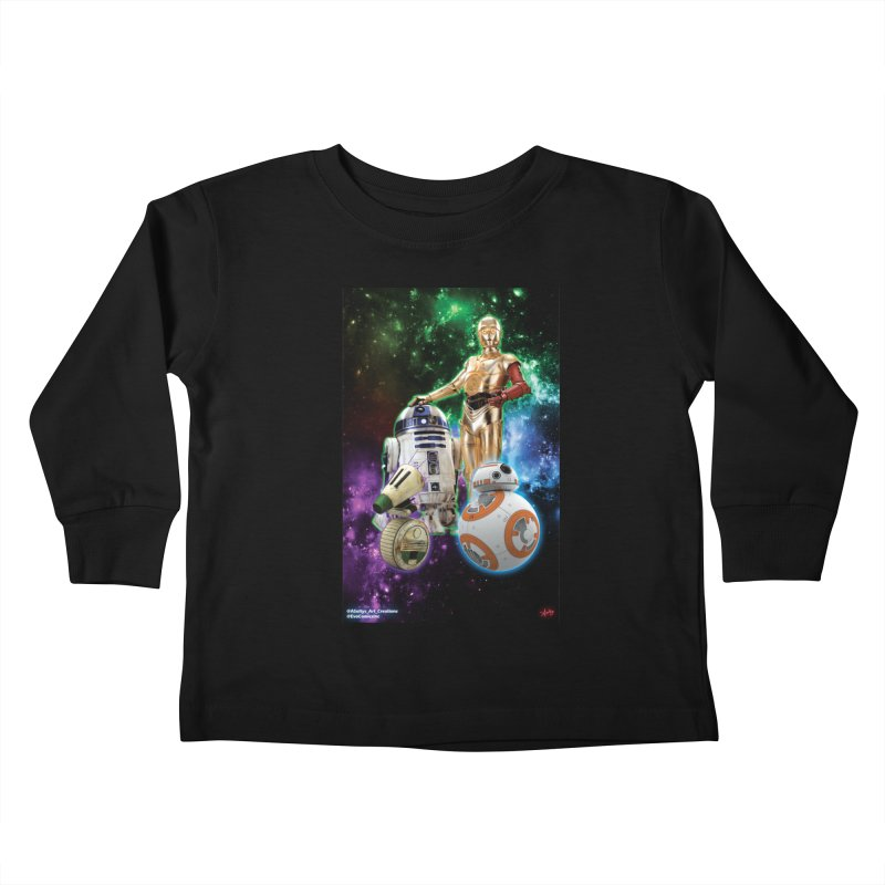 The Droids You Are Looking For Kids Toddler Longsleeve T-Shirt by Evolution Comics INC