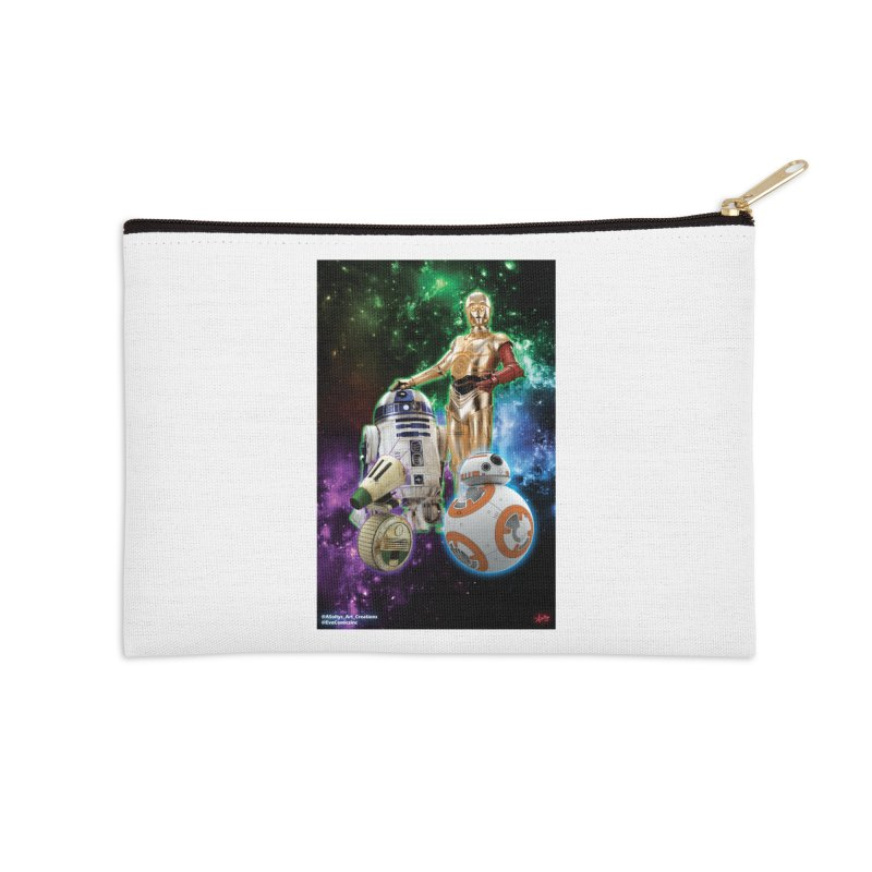 The Droids You Are Looking For Accessories Zip Pouch by Evolution Comics INC