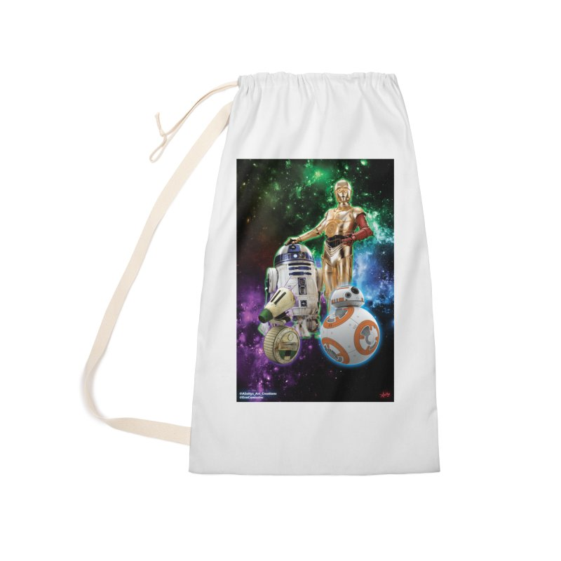 The Droids You Are Looking For Accessories Laundry Bag Bag by Evolution Comics INC