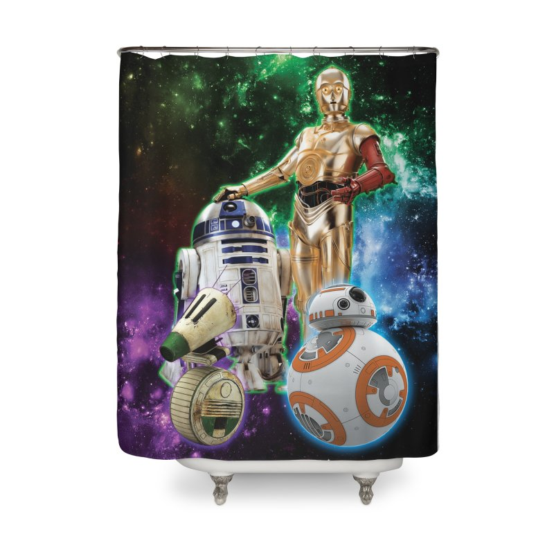 The Droids You Are Looking For Home Shower Curtain by Evolution Comics INC