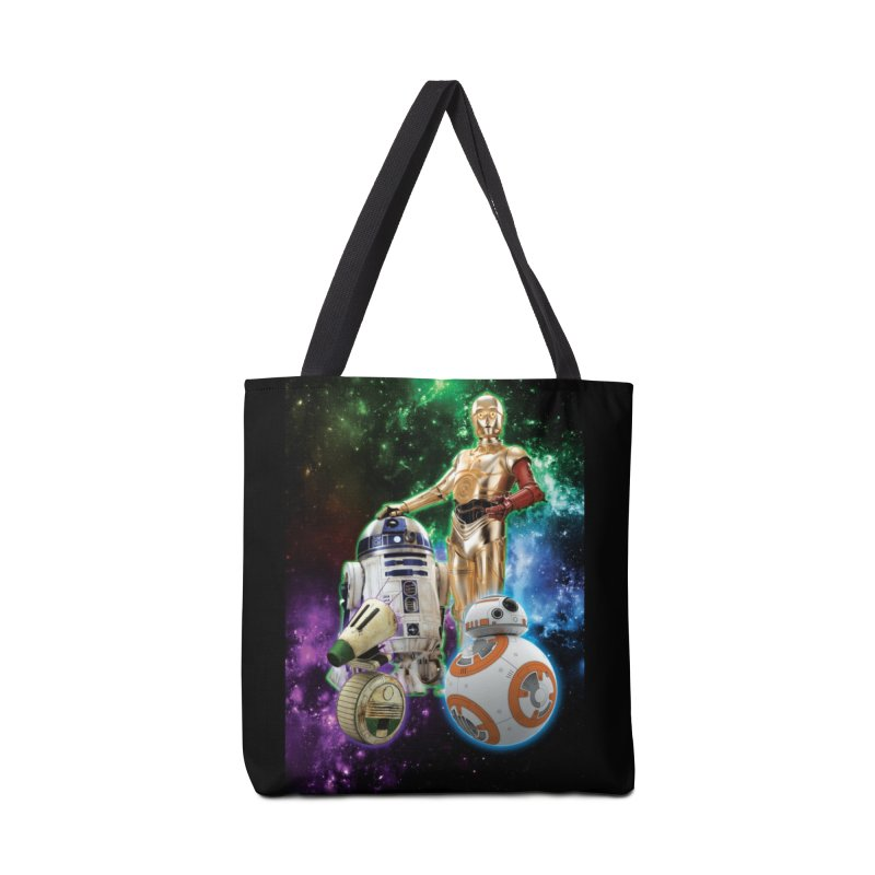 The Droids You Are Looking For Accessories Tote Bag Bag by Evolution Comics INC