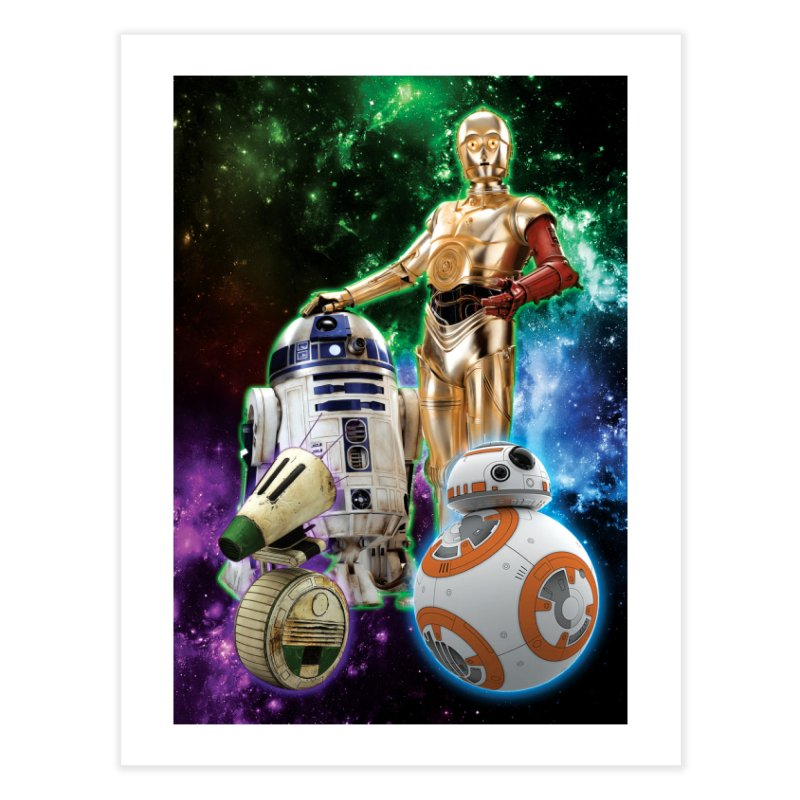 The Droids You Are Looking For Home Fine Art Print by Evolution Comics INC