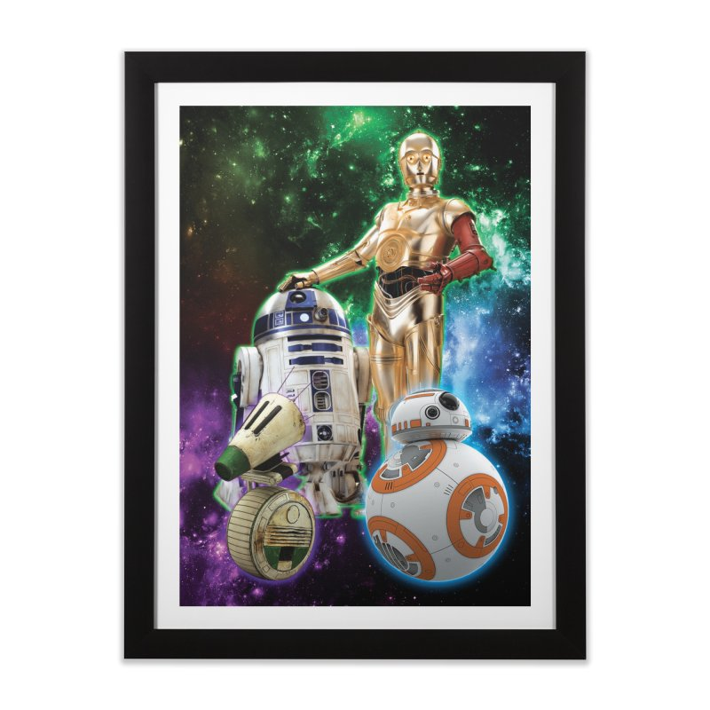 The Droids You Are Looking For Home Framed Fine Art Print by Evolution Comics INC
