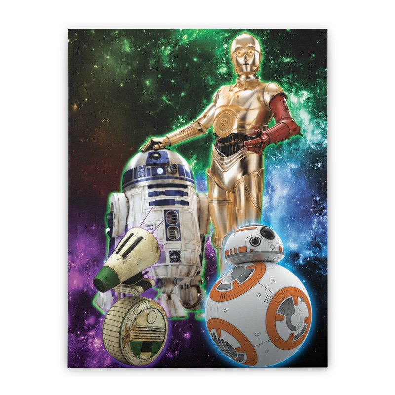 The Droids You Are Looking For Home Stretched Canvas by Evolution Comics INC