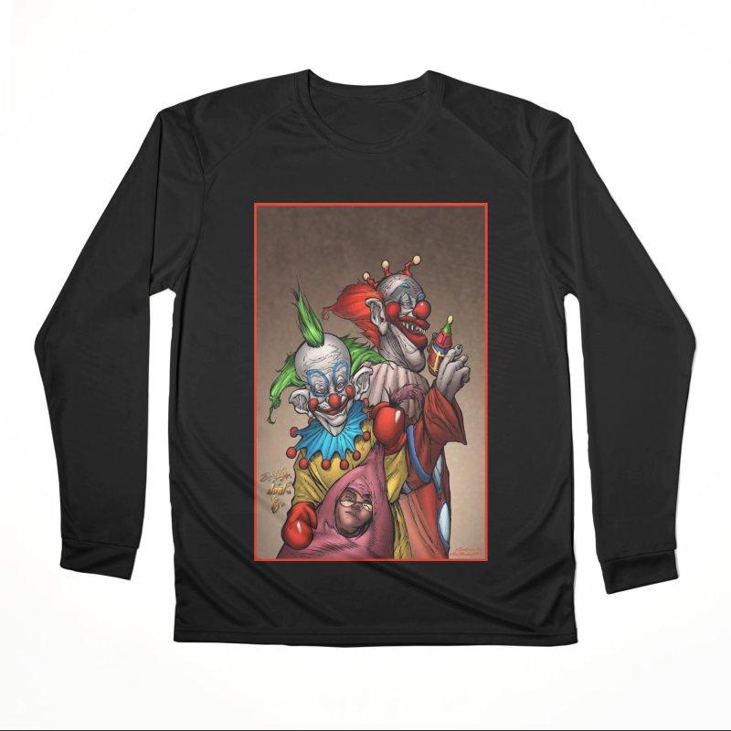 Killer Klowns Men's Performance Longsleeve T-Shirt by Evolution Comics INC