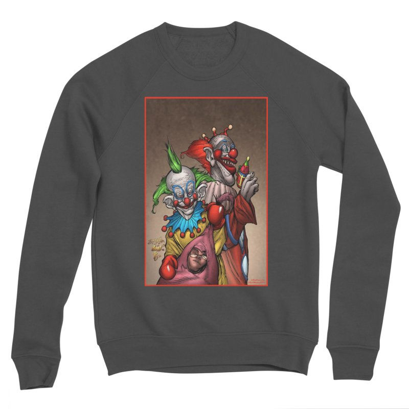 Killer Klowns Women's Sponge Fleece Sweatshirt by Evolution Comics INC