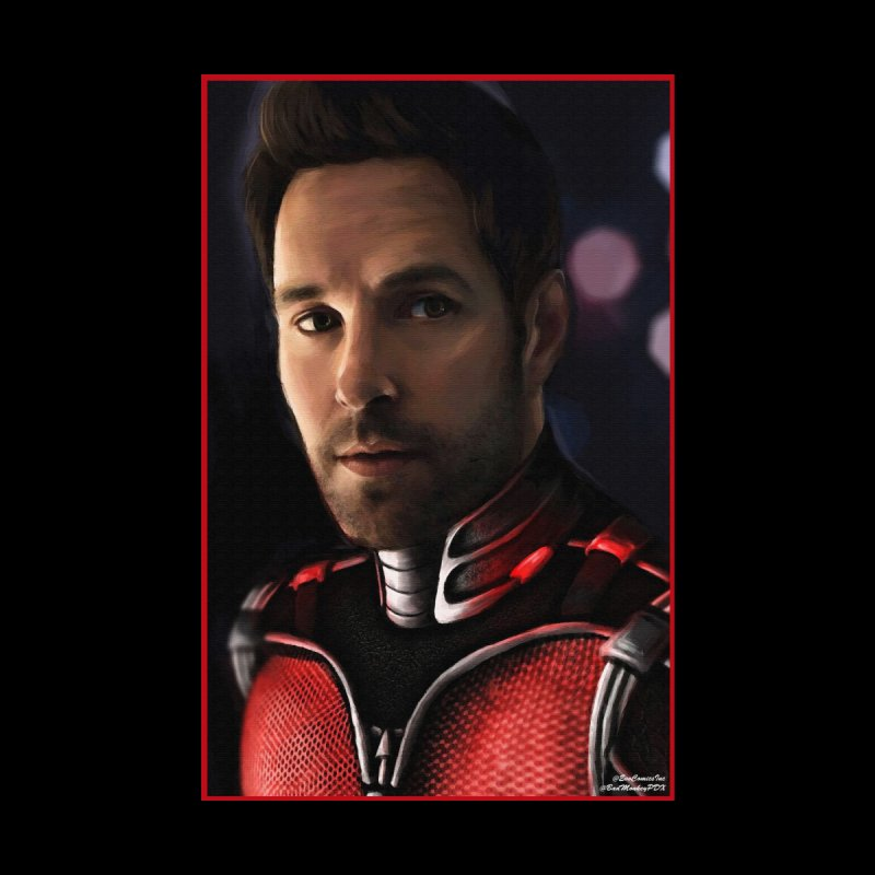 Ant-Man Home Throw Pillow by Evolution Comics INC
