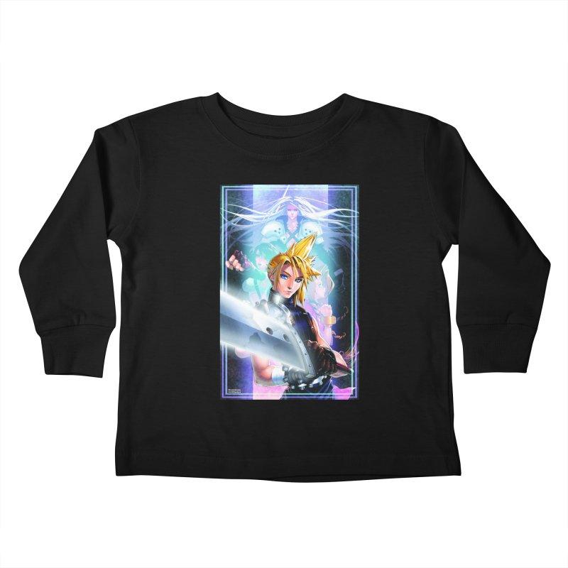 Final Fantasy Kids Toddler Longsleeve T-Shirt by Evolution Comics INC
