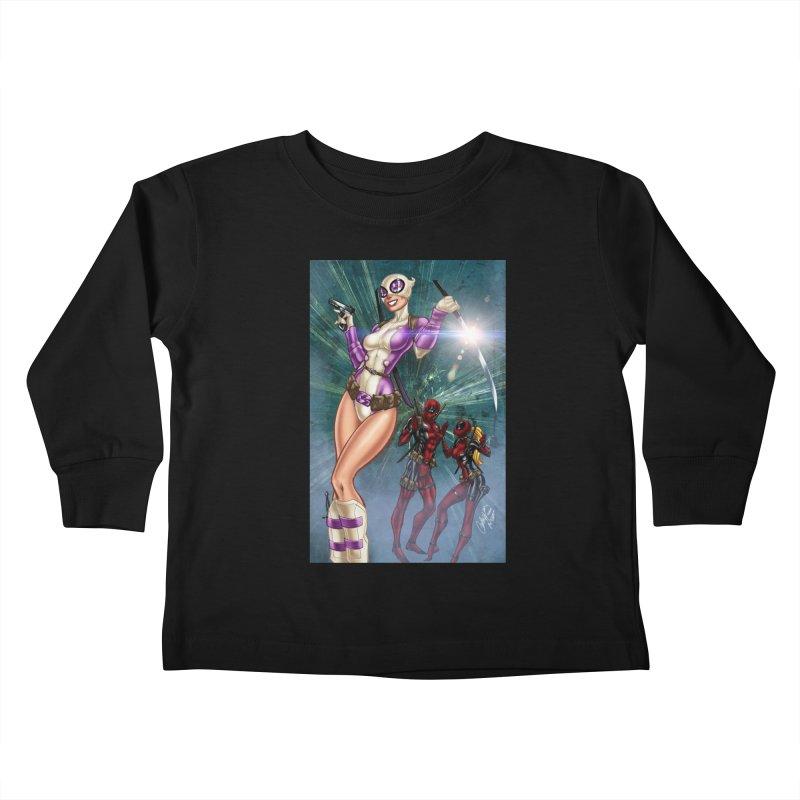 Gwenpool Kids Toddler Longsleeve T-Shirt by Evolution Comics INC