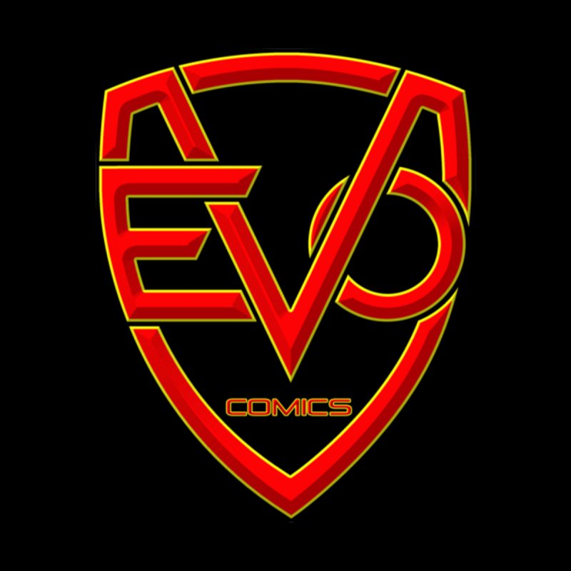 Evo Comics Main Logo Men's Sweatshirt by Evolution Comics INC
