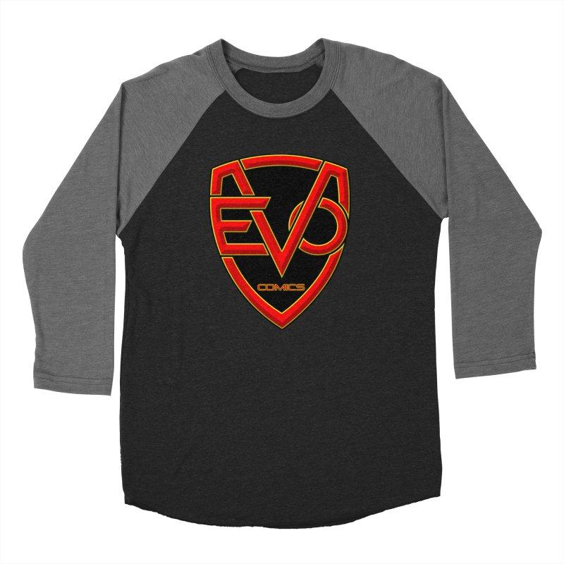 Evo Comics Main Logo Women's Longsleeve T-Shirt by Evolution Comics INC