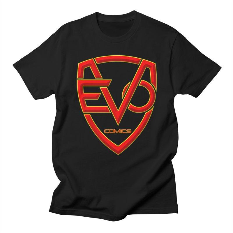 Evo Comics Main Logo Men's T-Shirt by Evolution Comics INC