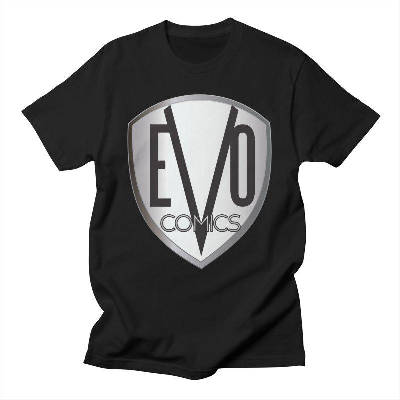 Evo Comics Original Logo Men's T-Shirt by Evolution Comics INC
