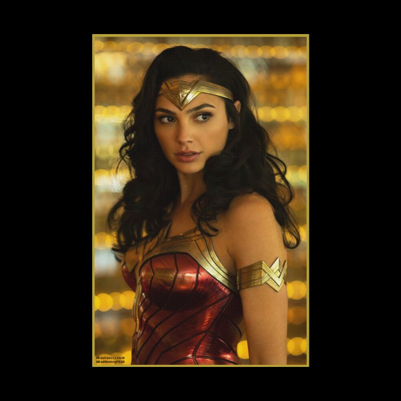 Wonder Woman - Gal Gadot Women's Zip-Up Hoody by Evolution Comics INC