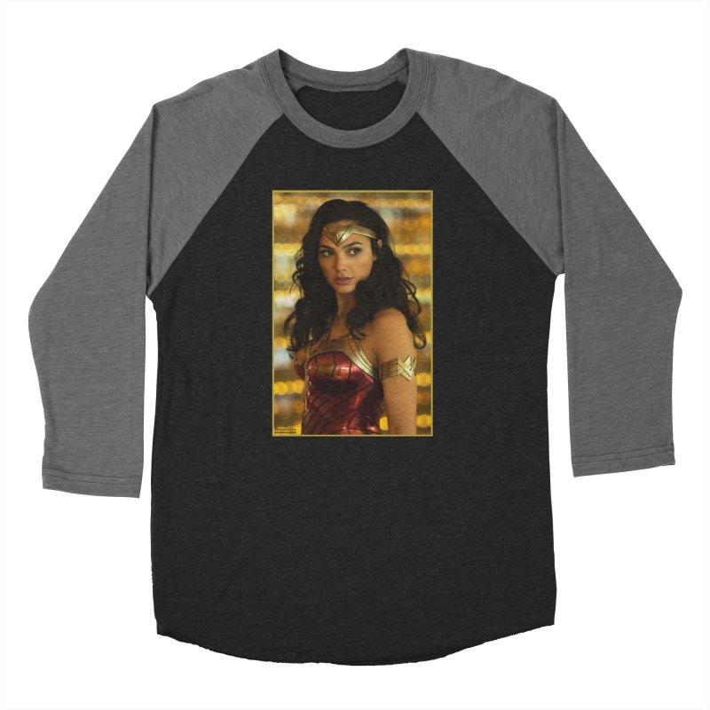 Wonder Woman - Gal Gadot Women's Longsleeve T-Shirt by Evolution Comics INC