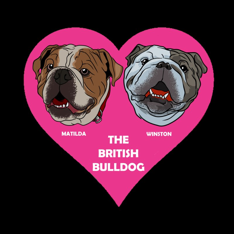 Matilda and Winston - The British Bulldogs Men's T-Shirt by Evolution Comics INC