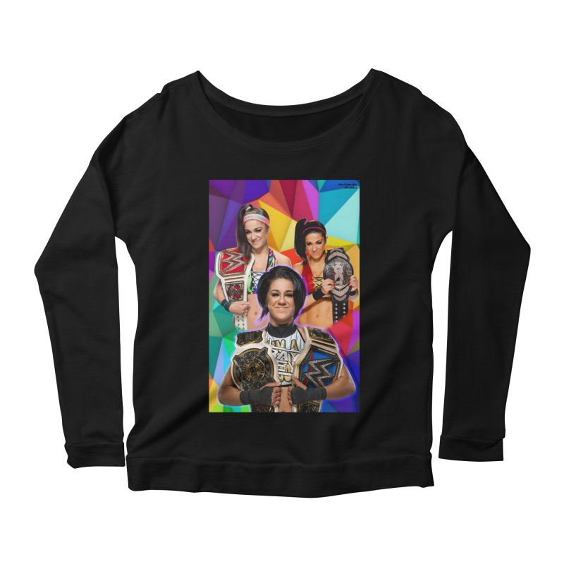 Bayley Version 2 Women's Longsleeve T-Shirt by Evolution Comics INC