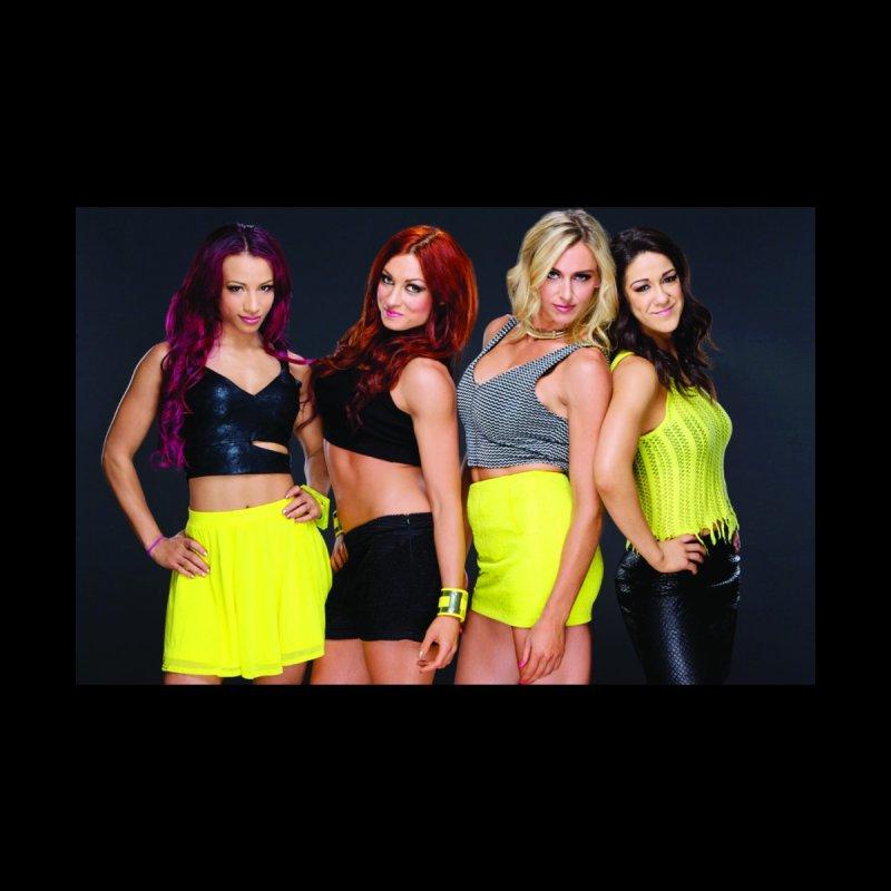 Four Horsewomen of WWE Women's Longsleeve T-Shirt by Evolution Comics INC