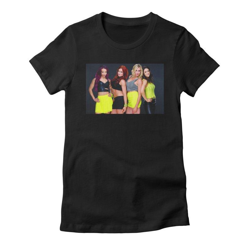Four Horsewomen of WWE Women's T-Shirt by Evolution Comics INC