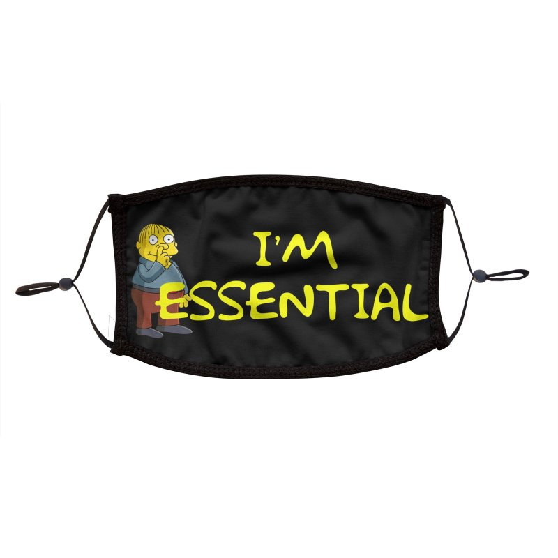 I'm Essential Accessories Face Mask by Evolution Comics INC