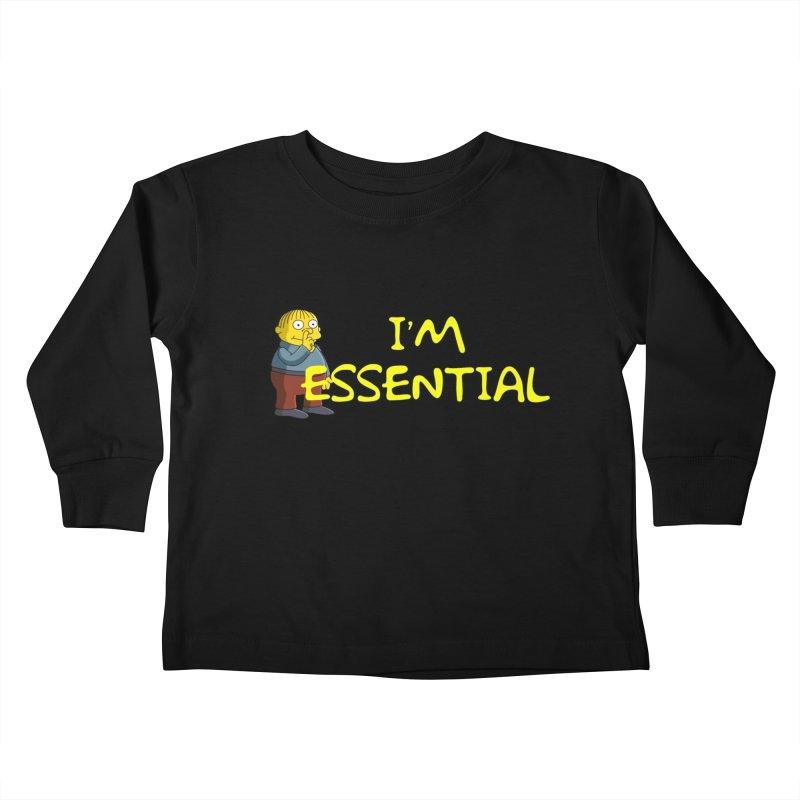 I'm Essential Kids Toddler Longsleeve T-Shirt by Evolution Comics INC