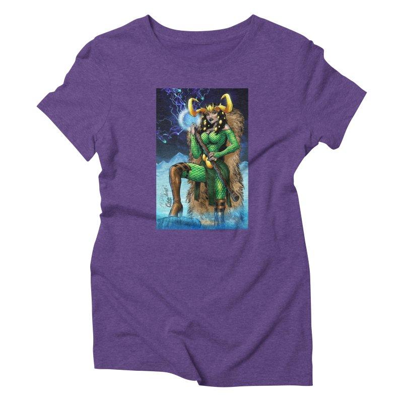 Lady Loki Women's T-Shirt by Evolution Comics INC