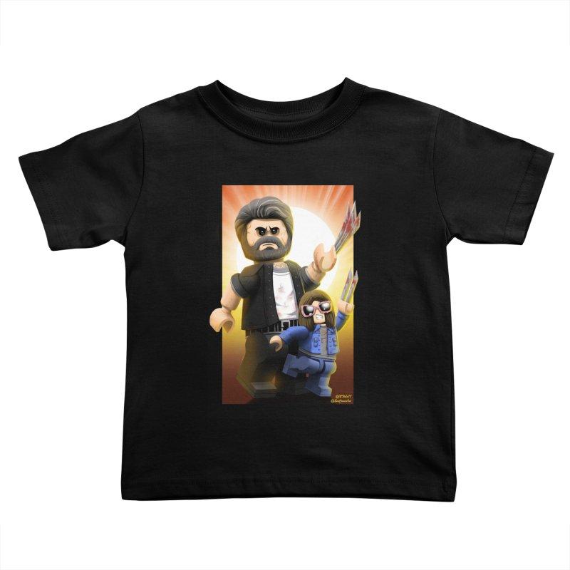 Lego Logan & X23 Kids Toddler T-Shirt by EvoComicsInc's Artist Shop