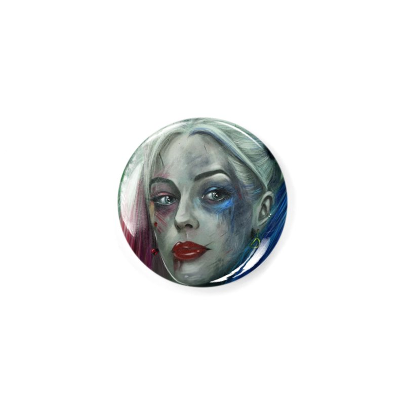 Harly Quinn Suicide Squad Accessories Button by Evolution Comics INC