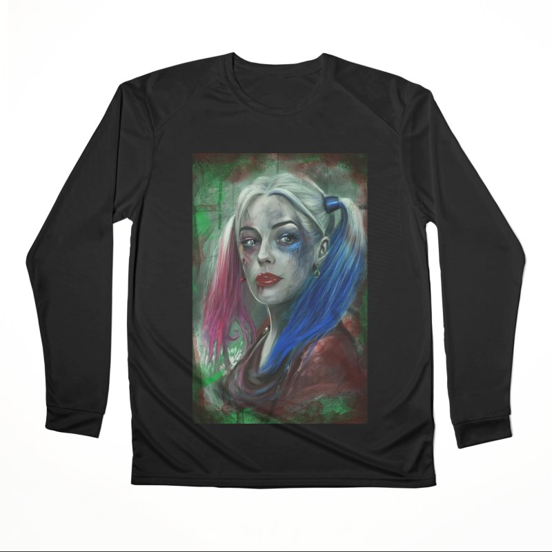 Harly Quinn Suicide Squad Women's Performance Unisex Longsleeve T-Shirt by Evolution Comics INC