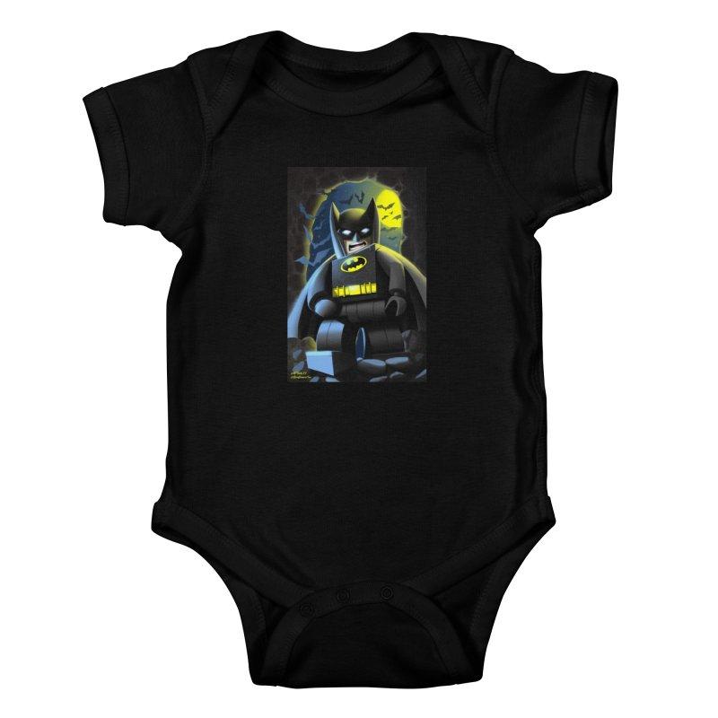 Lego Batman Kids Baby Bodysuit by EvoComicsInc's Artist Shop