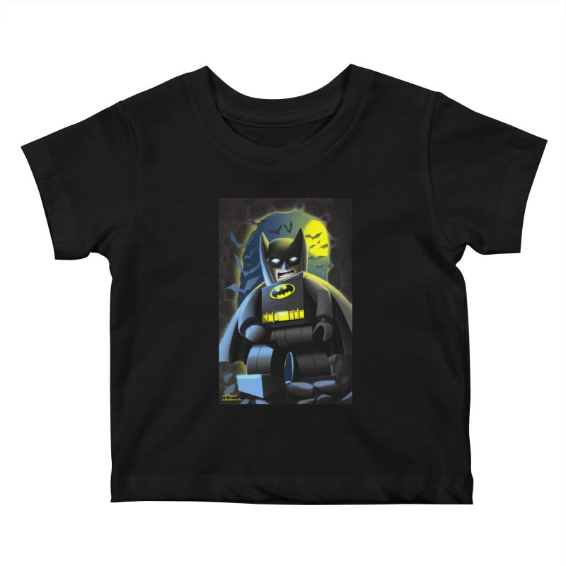 Lego Batman Kids Baby T-Shirt by EvoComicsInc's Artist Shop