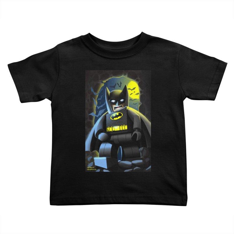 Lego Batman Kids Toddler T-Shirt by EvoComicsInc's Artist Shop