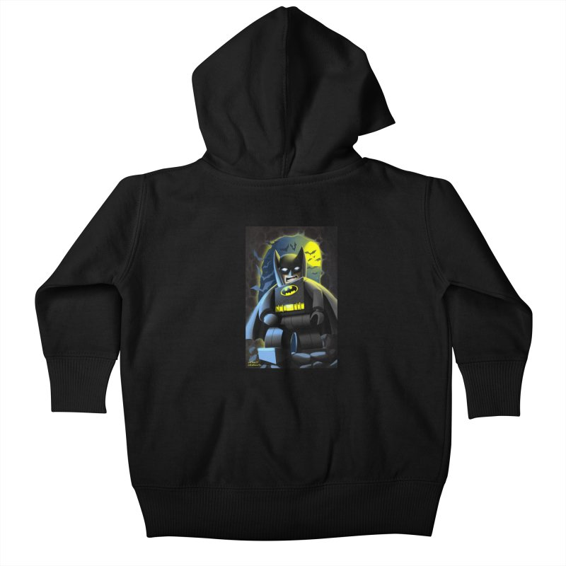 Lego Batman Kids Baby Zip-Up Hoody by EvoComicsInc's Artist Shop