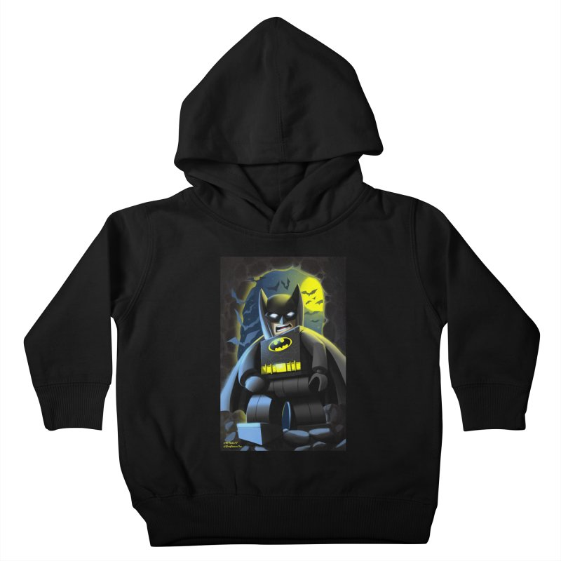 Lego Batman Kids Toddler Pullover Hoody by EvoComicsInc's Artist Shop