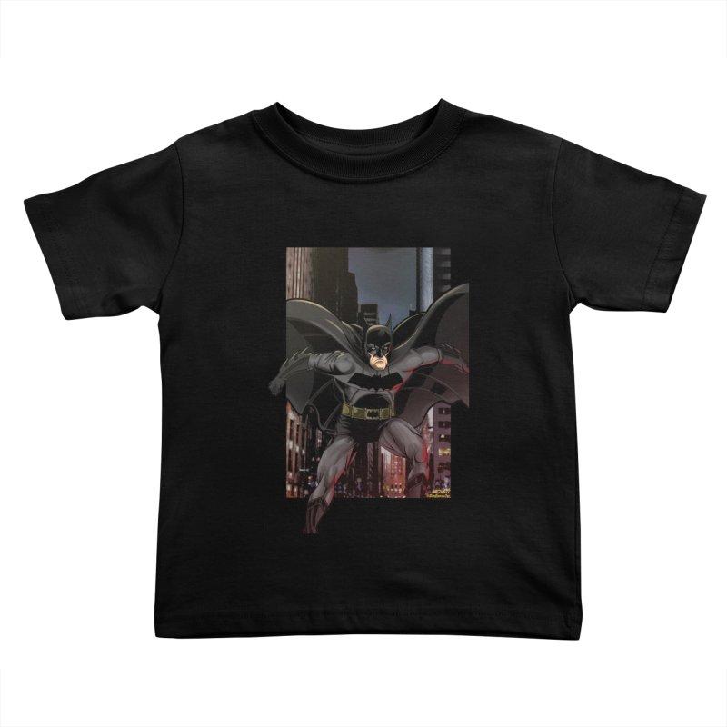Batman Kids Toddler T-Shirt by EvoComicsInc's Artist Shop