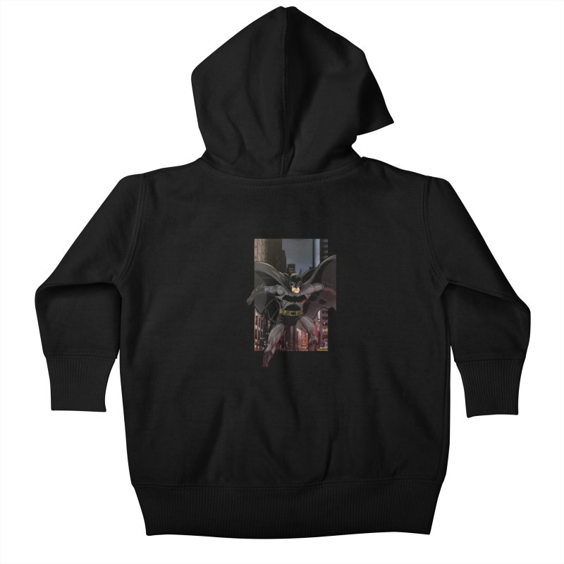 Batman Kids Baby Zip-Up Hoody by EvoComicsInc's Artist Shop