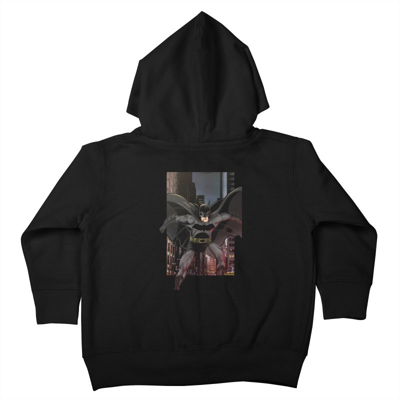 Batman Kids Toddler Zip-Up Hoody by EvoComicsInc's Artist Shop