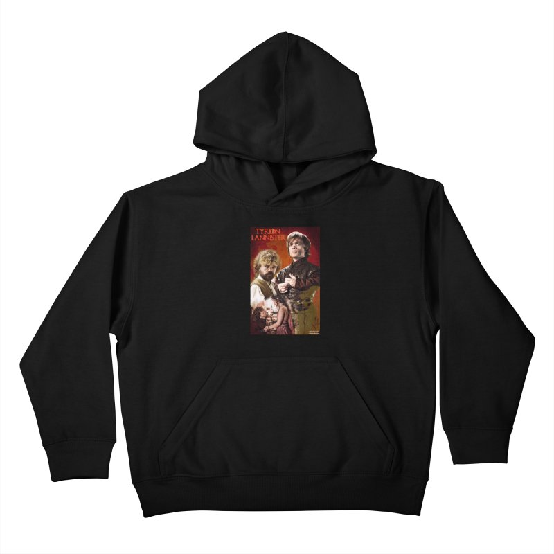 Game Of Thrones - Tyrion Lannister Kids Pullover Hoody by EvoComicsInc's Artist Shop